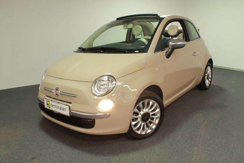 brugt Fiat 500C 1,2 Collezione