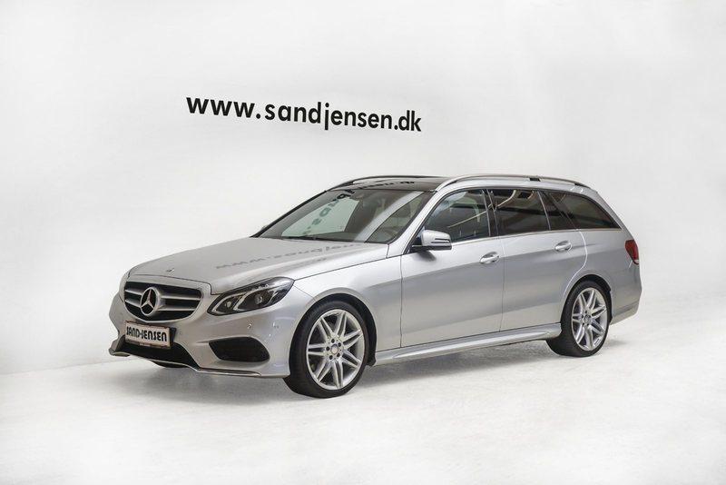 brugt Mercedes E350 0 BlueTEC Avantgarde st.car aut., 5d