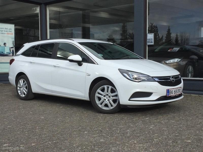 Solgt Opel Astra 1,6 CDTI Enjoy Sta., brugt 2017, km 23.000 i Midtjylland