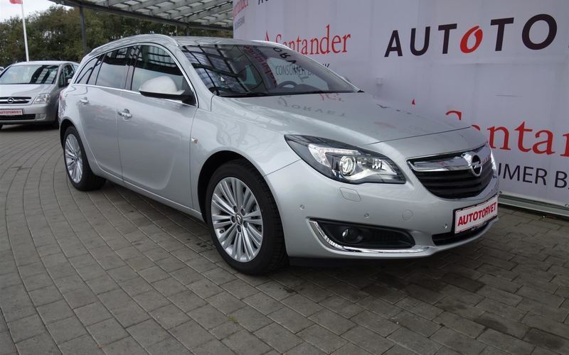 brugt Opel Insignia Sports Tourer 1,6 CDTI Cosmo 136HK Stc 6g Aut.