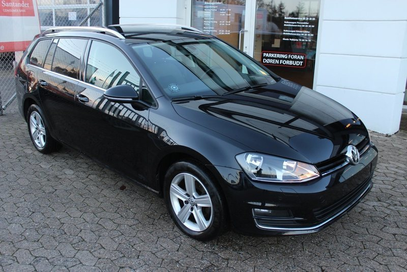 brugt 1 4 tsi 140 highl variant dsg bmt vw golf vii 2014 km i viborg. Black Bedroom Furniture Sets. Home Design Ideas