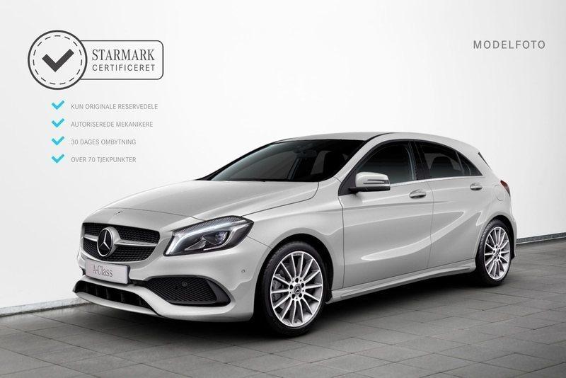 Spar kr. 3.100: Mercedes A200 1.6 Benzin 156 HK (2018) | Roskilde | AutoUncle