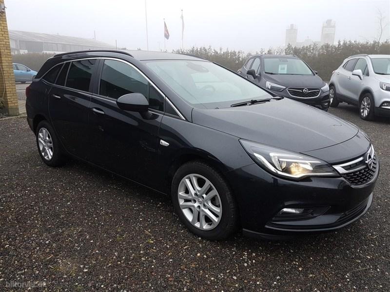 Solgt Opel Astra 1,6 CDTI Enjoy Sta., brugt 2016, km 9.500 i Sjælland