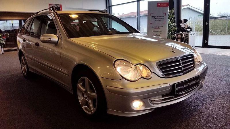 brugt Mercedes C220 2,2 CDi Classic st.car aut. 5d