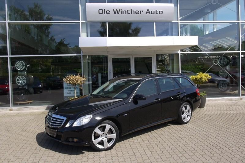 brugt Mercedes E250 2,2 CDi st.car aut. BE 5d