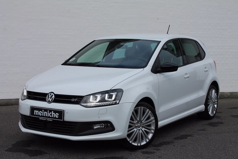 solgt vw polo 1 4 tsi 150 bluegt act brugt 2014 km 26. Black Bedroom Furniture Sets. Home Design Ideas