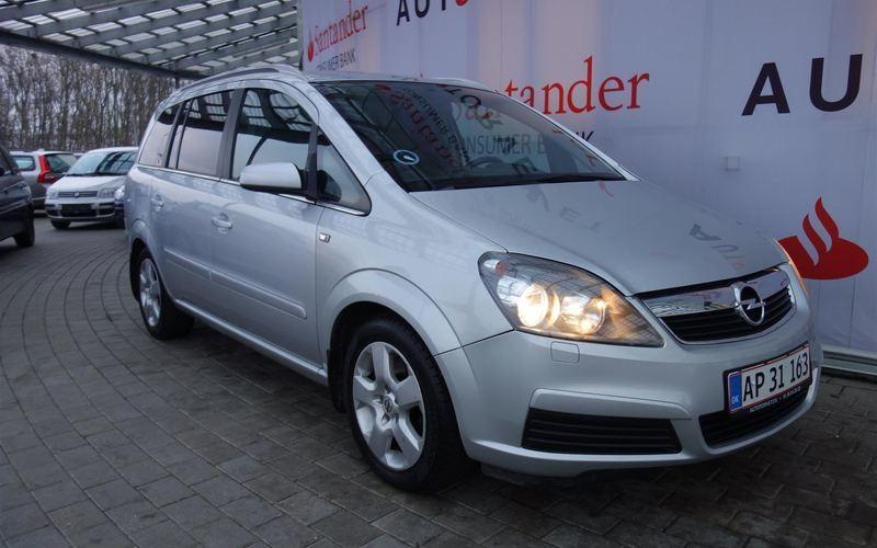brugt Opel Zafira 1,9 CDTI Limited 7 Personers 120HK