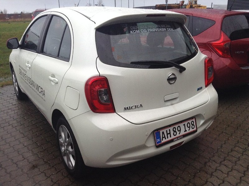 solgt nissan micra 1 2 80 acenta 5d brugt 2013 km i hj rring. Black Bedroom Furniture Sets. Home Design Ideas