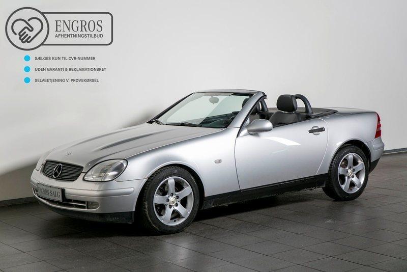 brugt Mercedes SLK230 2,3 Komp. aut.