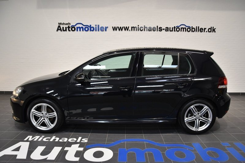 solgt vw golf vi 1 6 tdi 105 bluemo brugt 2010 km 175. Black Bedroom Furniture Sets. Home Design Ideas