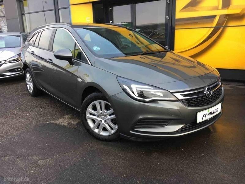 Solgt Opel Astra 1,0 Turbo Enjoy St., brugt 2017, km 6.000 i Sjælland