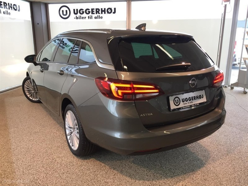 Solgt Opel Astra 1,4 Turbo INNOVATI., brugt 2017, km 10.000 i Midtjylland