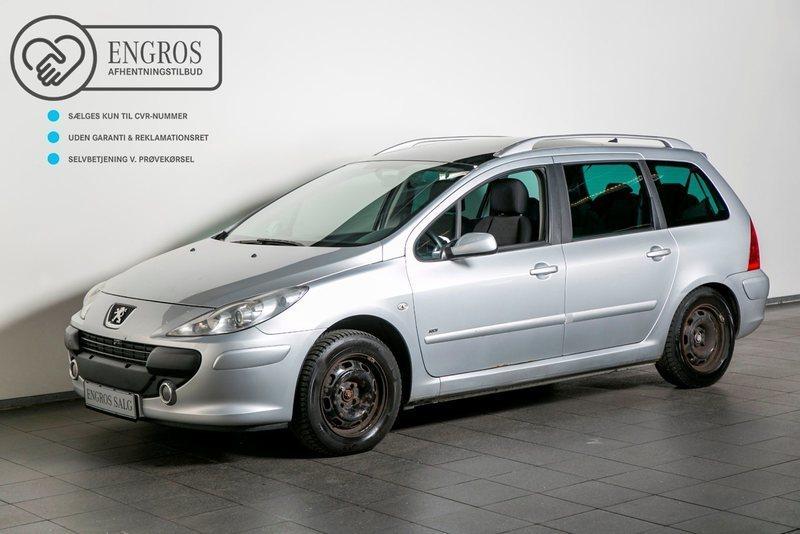 brugt Peugeot 307 1,6 T6 HDi 110 SW 7prs