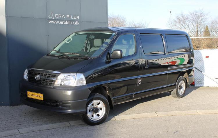 brugt Toyota HiAce Lang 2,5 D-4D a/c m/komf. 4x4 116HK Van