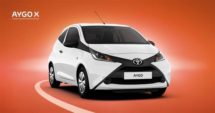 brugt Toyota Aygo 1,0 68HK 3d