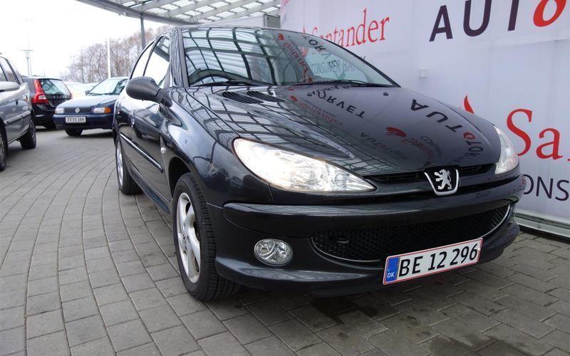 brugt Peugeot 206 1,6 XR 110HK 5d