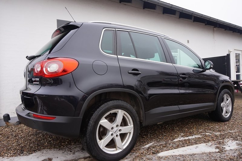 brugt 2 0 tdi 140 sport style 4m vw tiguan 2008 km i haderslev. Black Bedroom Furniture Sets. Home Design Ideas