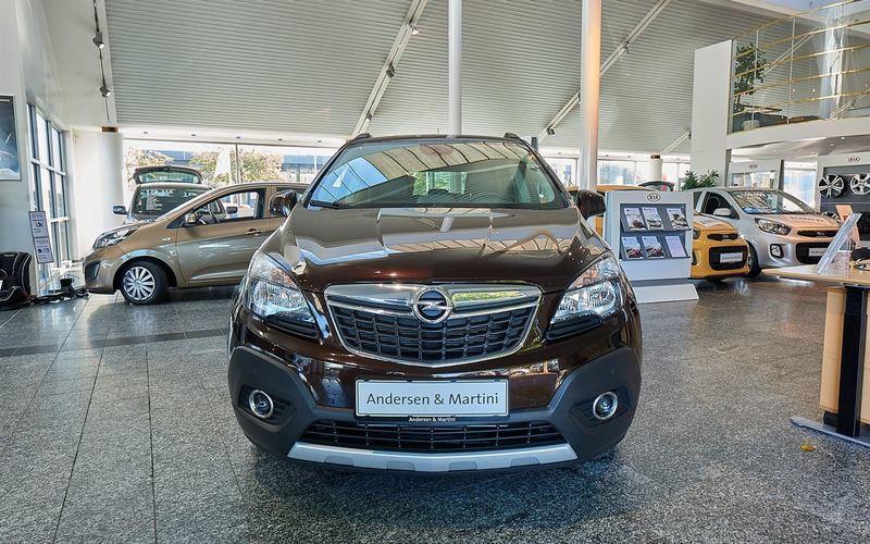 Solgt Opel Mokka 1,4 Turbo Cosmo 14., brugt 2016, km 5.072 i Kastrup