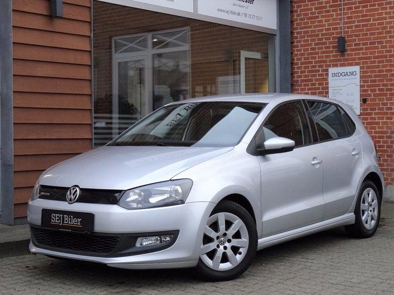 brugt VW Polo 1,2 TDI BLUEMOTION 75HK 5d
