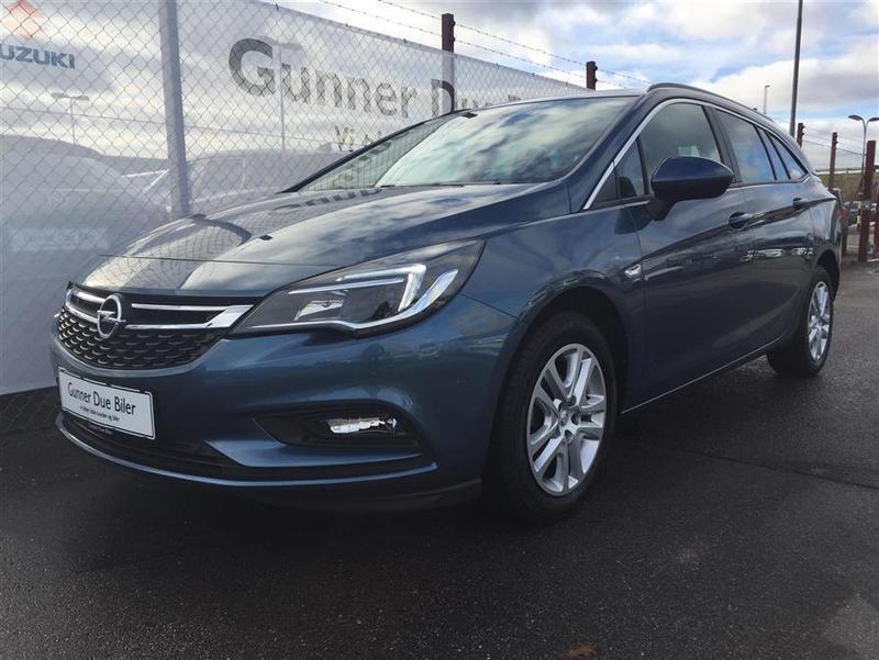 Solgt Opel Astra 1,0 Turbo Enjoy S., brugt 2016, km 8.768 i Sjælland