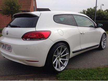 solgt vw scirocco 1 4 tsi 160 hk brugt 2008 km i nordjylland. Black Bedroom Furniture Sets. Home Design Ideas
