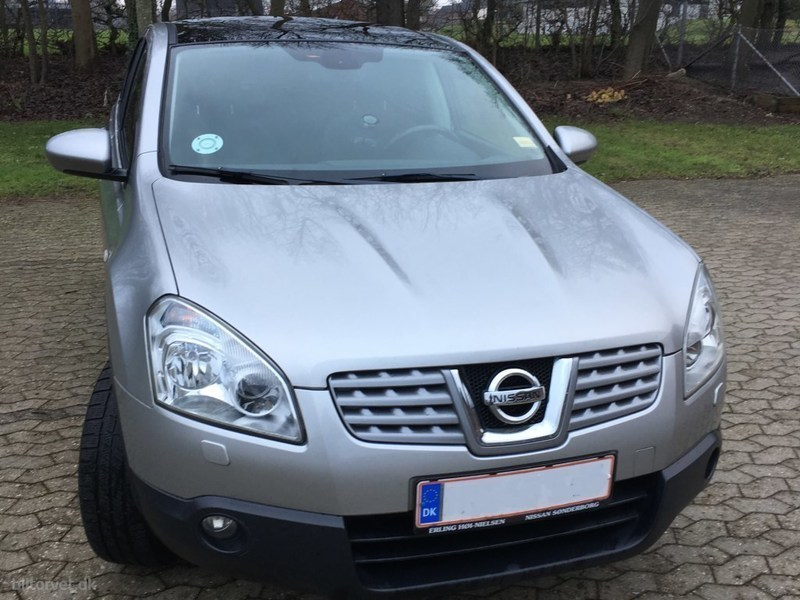 solgt nissan qashqai 1 5dci 106hk 5d brugt 2008 km i syddanmark. Black Bedroom Furniture Sets. Home Design Ideas