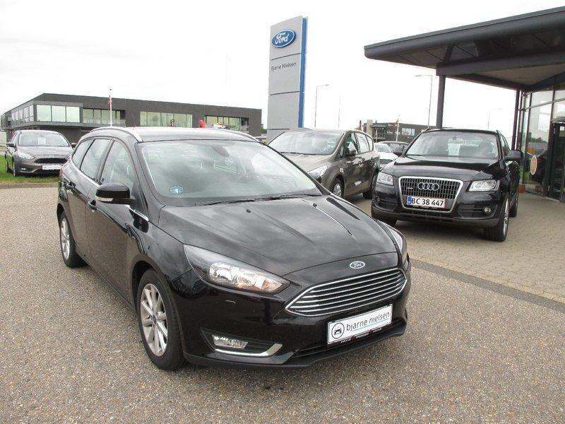 brugt Ford Focus 1,0 SCTi 125 Titanium st.car