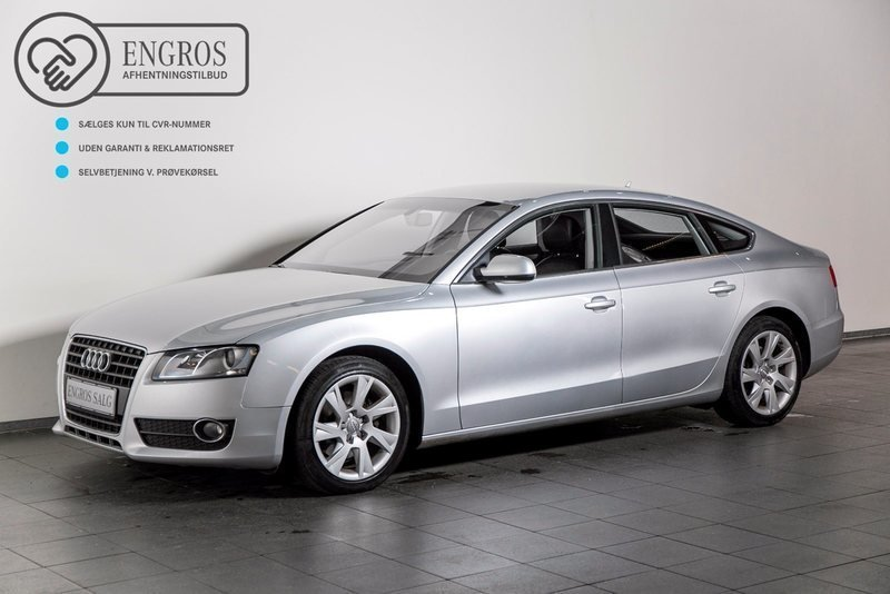 solgt audi a5 sportback 2 0 tdi 170 brugt 2011 km i vejle. Black Bedroom Furniture Sets. Home Design Ideas