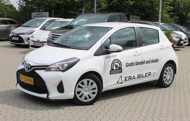 gebraucht Toyota Yaris 1,4 D-4D Van 90HK Van