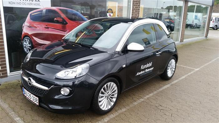 brugt Opel Adam 1.0 Eco Tec Turbo GLAM 6g 3d