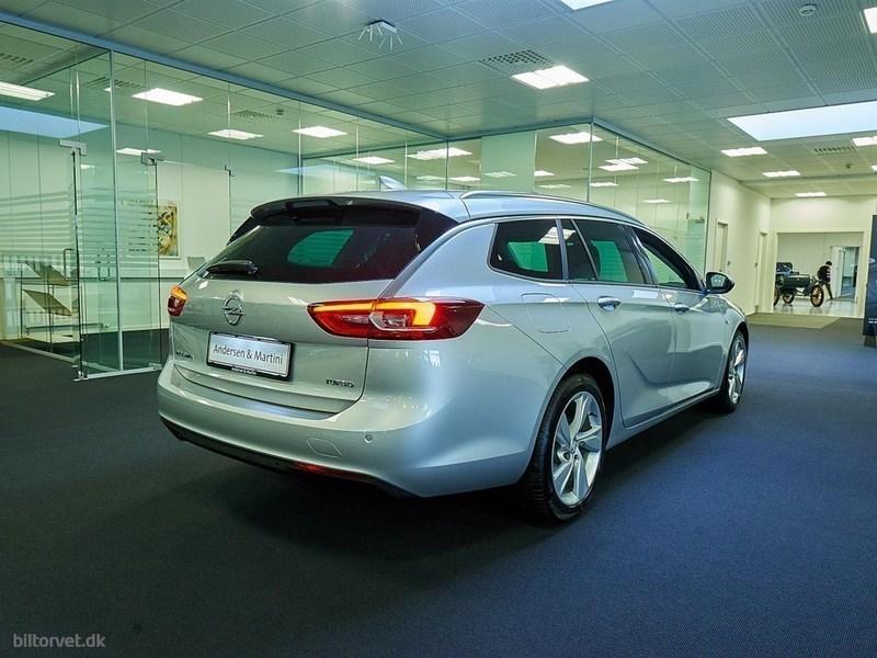 Solgt Opel Insignia 1,5 Turbo Dynam., brugt 2018, km 0 i Hovedstaden