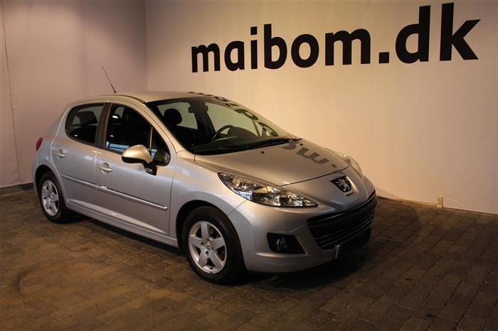 Solgt Peugeot 207 1,6 HDI Comfort P., brugt 2011, km 129.000 i Aalborg