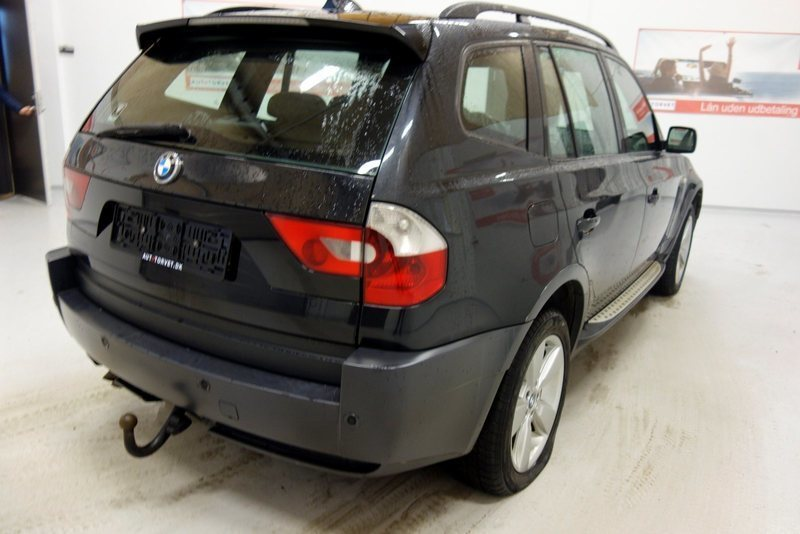 solgt bmw x3 3 0 d steptr brugt 2004 km i vodskov. Black Bedroom Furniture Sets. Home Design Ideas