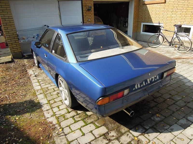 Solgt Opel Manta B, brugt 1986, km 77.158 i Syddanmark