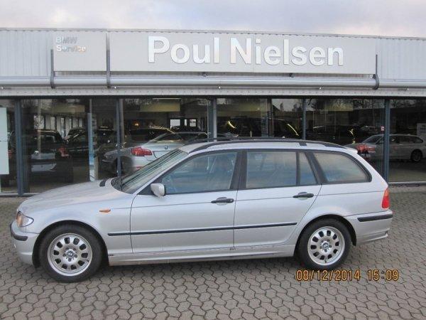 brugt BMW 320 3 series d Touring Steptronic 5d