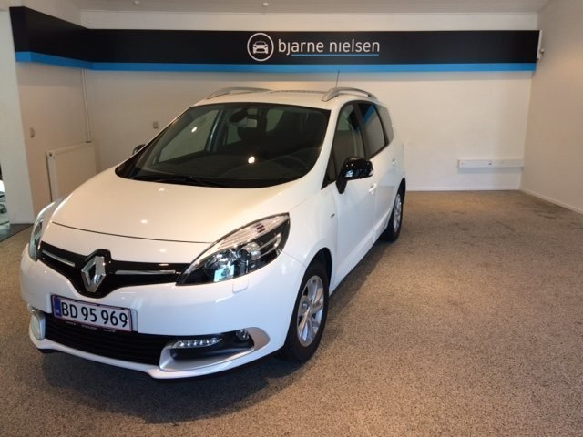 gebraucht Renault Grand Scénic III 1,5 dCi 110 Limited Navi Style 7p