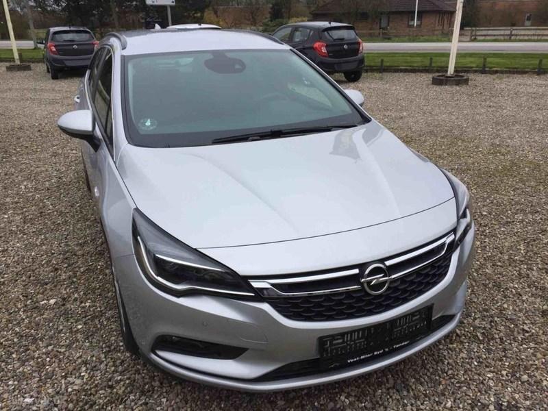 Solgt Opel Astra 1,0 Turbo Enjoy St., brugt 2016, km 1.725 i Syddanmark