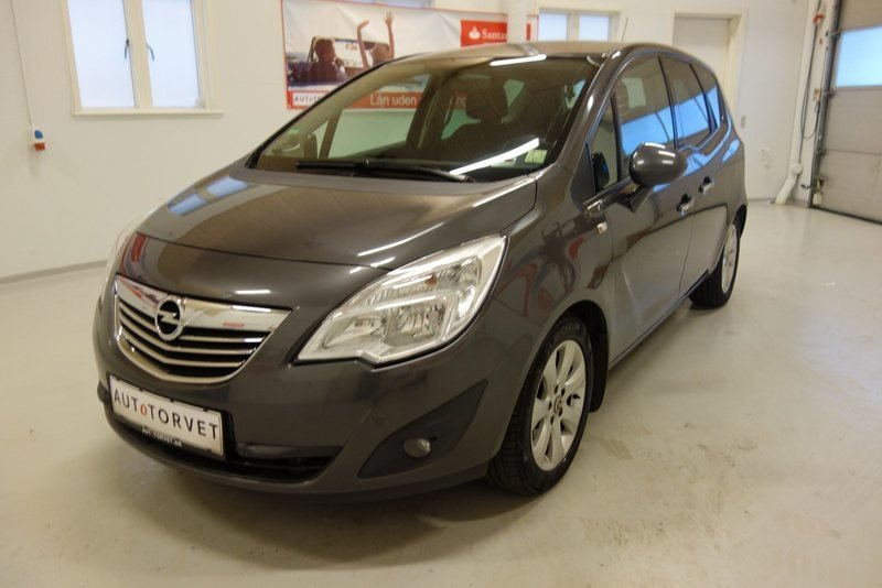 brugt 1 7 cdti dpf cosmo 110hk 6g opel meriva 2011 km. Black Bedroom Furniture Sets. Home Design Ideas