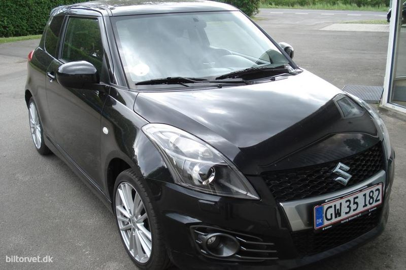 solgt suzuki swift 1 6 vvt sport 13 brugt 2012 km i nyborg. Black Bedroom Furniture Sets. Home Design Ideas