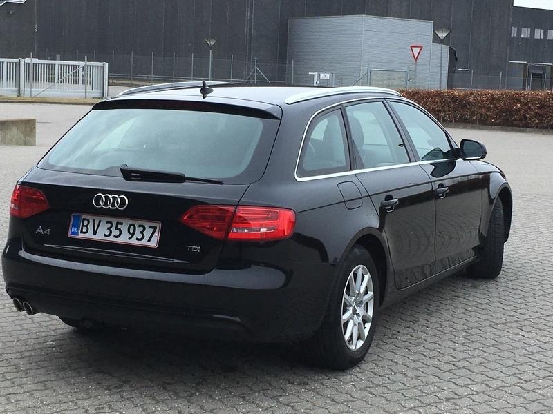 75a9a5d69817 brugt Audi A4 Avant 2.0 TDI 150 HK 5-dørs MULTITRONIC