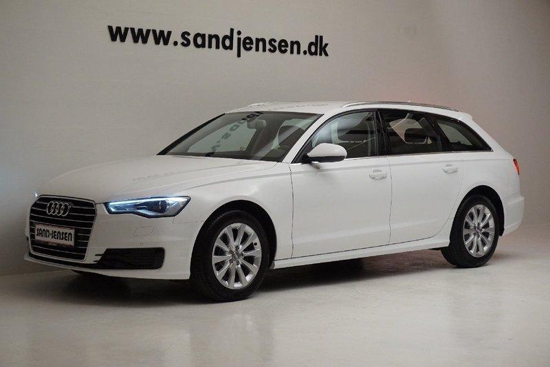 brugt Audi A6 2,0 TDiu 190 Avant S-tr., 5d
