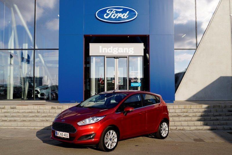 brugt Ford Fiesta 1,0 SCTi 140 Titanium