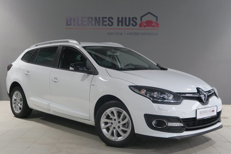 brugt Renault Mégane III 1,2 TCe 115 Limited Edition ST