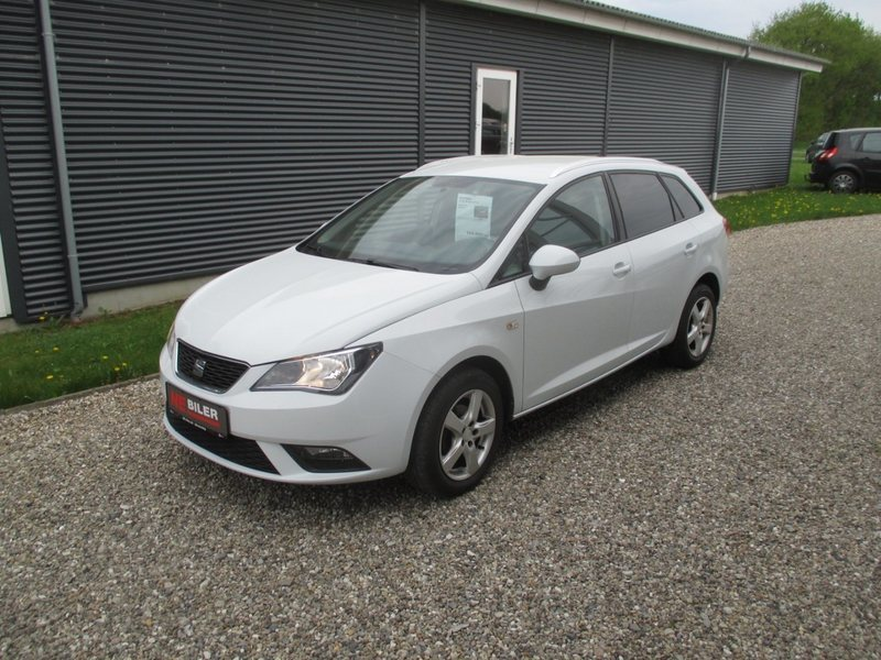 solgt seat ibiza st 1 6 tdi 90 style brugt 2014 km i bramming. Black Bedroom Furniture Sets. Home Design Ideas