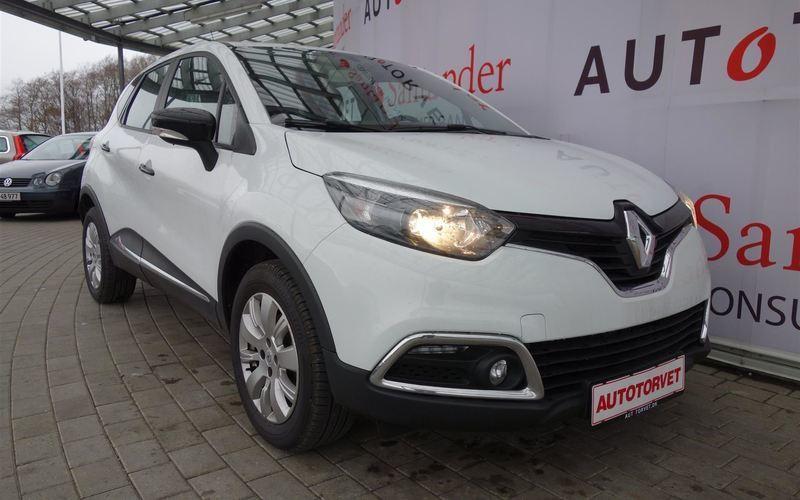 brugt Renault Captur 1,5 DCI FAP Expression Navi Style 90HK 5d