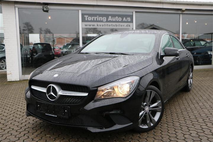 brugt Mercedes CLA200 2,1 CDI 136HK 4d 6g