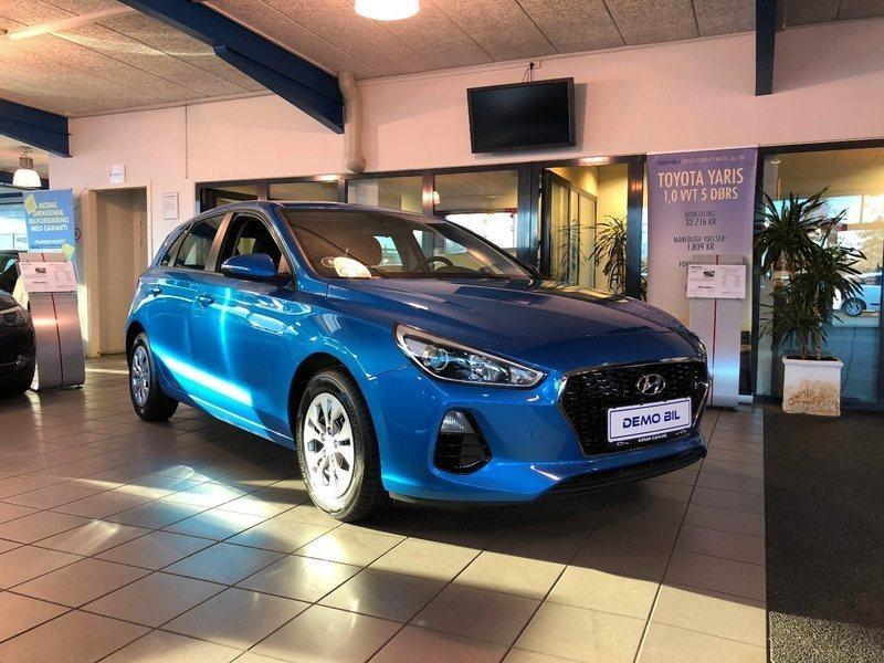 Brugt 1,0 T-GDi 120 Life+ Hyundai i30 – 2017, km 2.000 i Ishøj