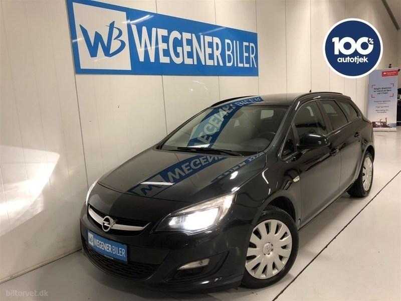 Solgt Opel Astra 1,6 CDTI Sport Sta., brugt 2014, km 142.000 i Midtjylland