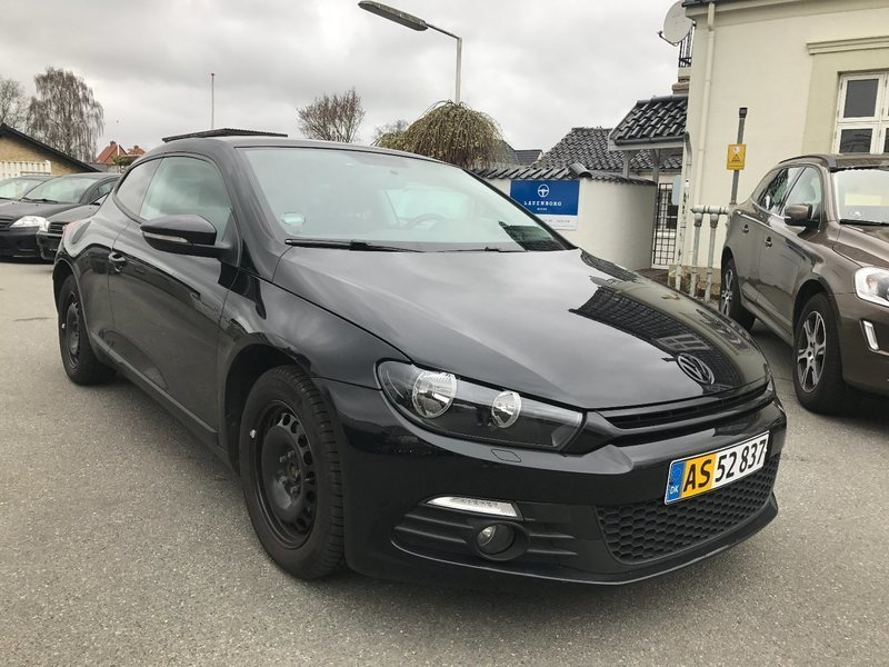 solgt vw scirocco 1 4 tsi 160 sport brugt 2010 km i kolding. Black Bedroom Furniture Sets. Home Design Ideas