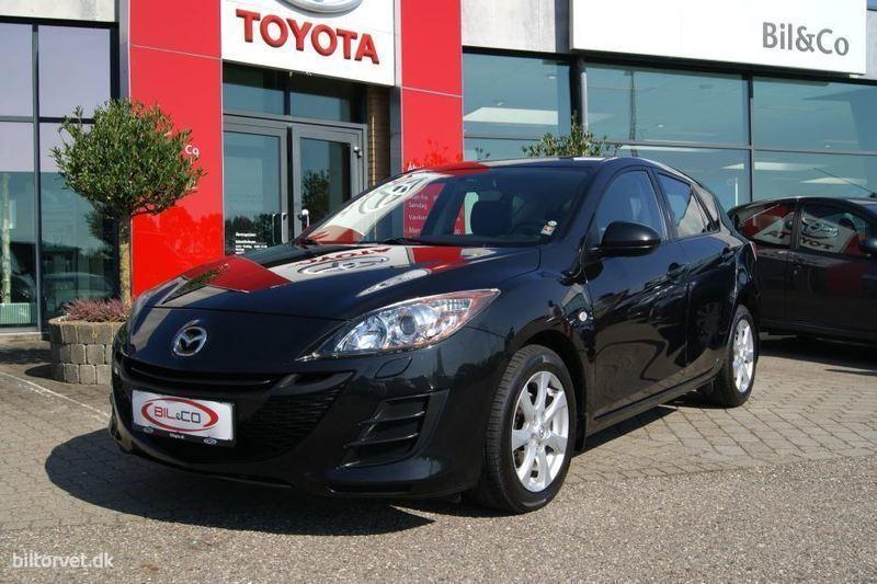brugt Mazda 3 1,6 DE DPF Advance 109HK 5d